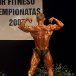 Lietuvos kultūrizmo ir fitneso čempionatas Marijampolėje 2007 m.