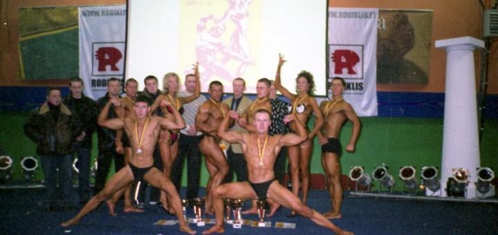 Lietuvos taurės varžybos Alytuje 2003 metai