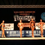 WABBA Europos kultūrizmo ir fitneso čempionatas Vokietijoje, 2006 m.