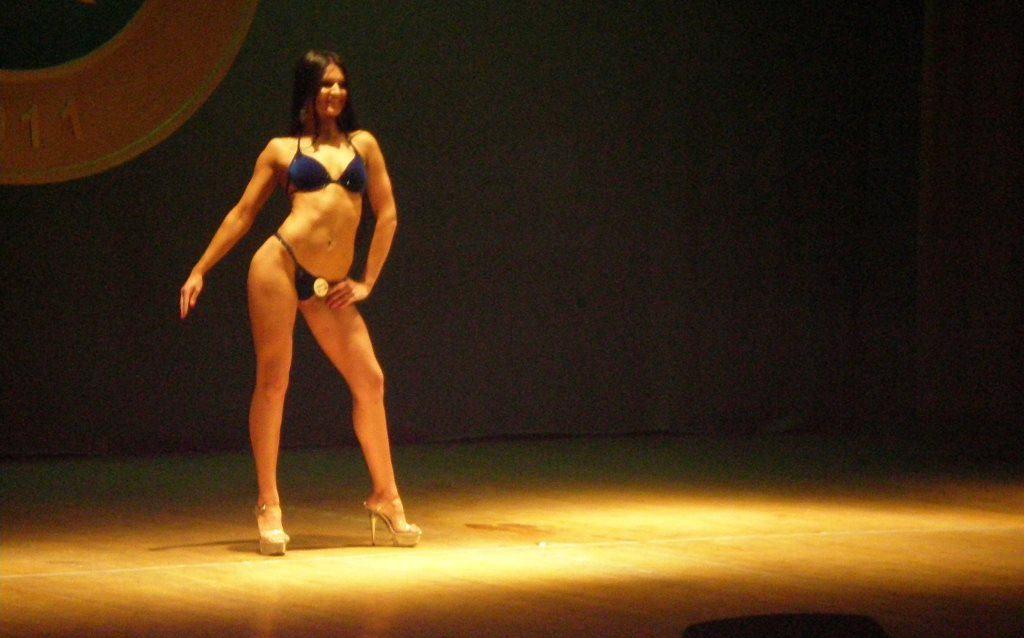 Nugalėtoja bikini kategorijoje Evelina Dranseikaitė