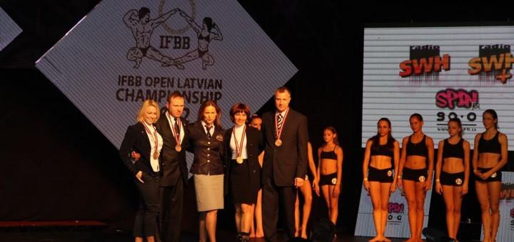 Atviras kultūrizmo ir fitneso čempionatas Latvijoje, 2012 m.