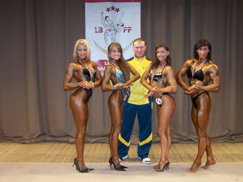 Latvijos atviras kultūrizmo ir fitneso čempionatas, 2007 m.