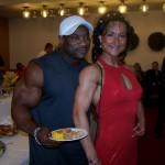 Mr. Olimpia Jackson Dexster ir Pasaulio čempionė Ingrida Blagušauskaitė