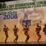 IFBB Europos kultūrizmo ir fitneso čempionatas Ispanijoje, 2008 m.