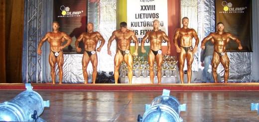 Lietuvos kultūrizmo ir fitneso XXVIII čempionatas Jurbarke, 2008 m.