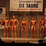 Lietuvos kultūrizmo ir fitneso XIX taurė Kėdainiuose, 2009 m.