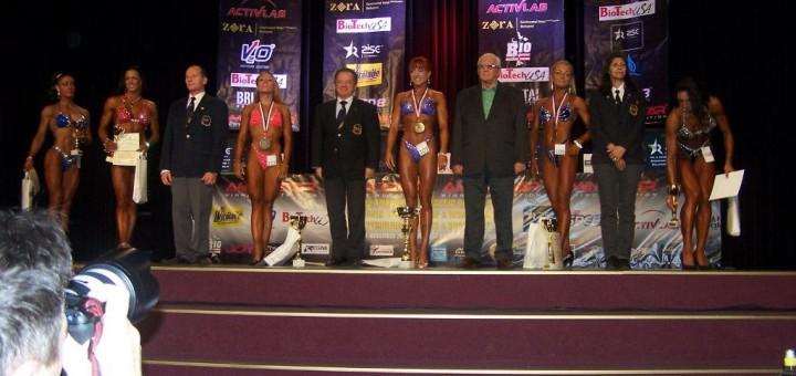 Pasaulio vyrų klasikinio kultūrizmo čempionato bei moterų fitneso taurės varžybos Vengrijoje 2010 m.