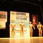 XVIII Lietuvos kultūrizmo ir fitneso taurė Tauragėje 2008 m.