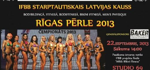 Latvijos atviros taurės varžybos Rygoje, 2013 m.