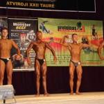 XXII Lietuvos kultūrizmo ir fitneso atviros taurės varžybos Raseiniuose