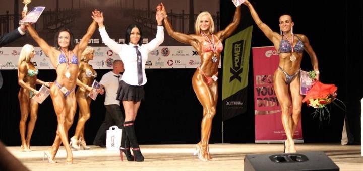 Atviras NAC kultūrizmo ir fitneso čempionatas Latvijoje.
