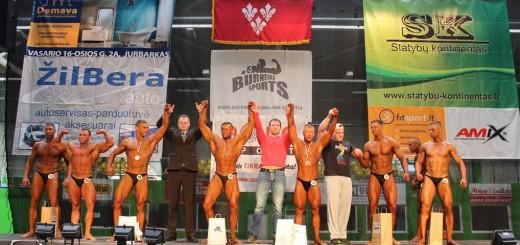 Atviros kultūrizmo ir fitneso pirmenybės mero Ričardo Juškos taurei laimėti Jurbarke, 2014 m.
