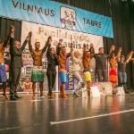 Atviros kultūrizmo ir fitneso Vilniaus miesto taurės varžybos, 2015 m.