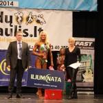 Atvirosios miesto kultūrizmo ir fitneso taurės varžybos Vilniuje 2014 m.