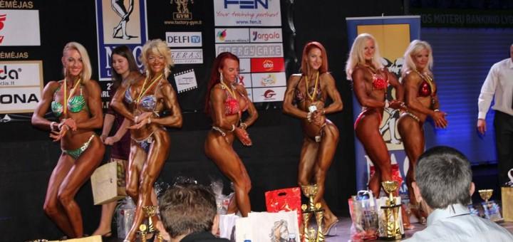 Baltijos šalių kultūrizmo ir fitneso tarptautinės varžybos Garliavoje