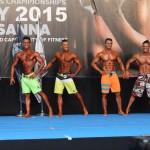 IFBB Europos moterų čempionatas Ispanijoje, 2015 m.