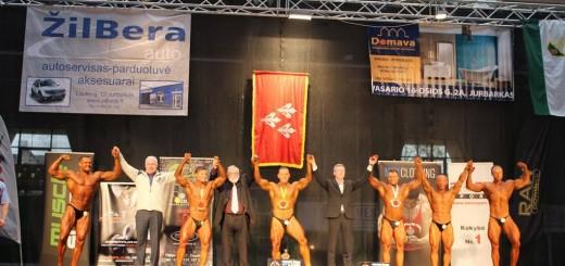 Atviros kultūrizmo ir fitneso pirmenybės, mero taurei laimėti Jurbarke, 2015 m.