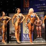 Atviros NAC kultūrizmo ir fitneso tarptautinės taurės varžybos Vilniuje