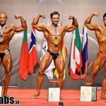 IFBB Pasaulio vyrų klasikinio kultūrizmo čempionatas Ispanijoje, 2014 m.