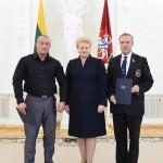 Tomas Bendoraitis, Prezidentė D.Grybauskaitė, Rinaldas Česnaitis