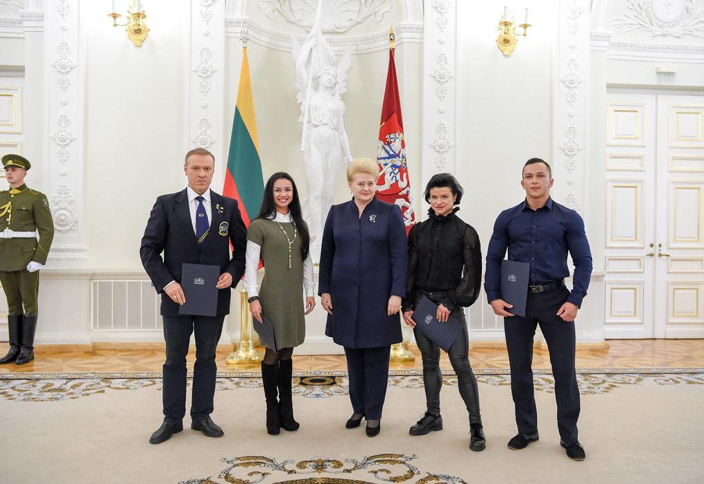 Geriausių šalies sportininkų apdovanojimai Vilniuje