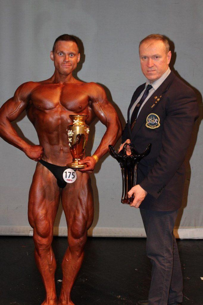 Tomas Kairys (Kūltūrizmas pirmos ir antros vietos laimėtojas)