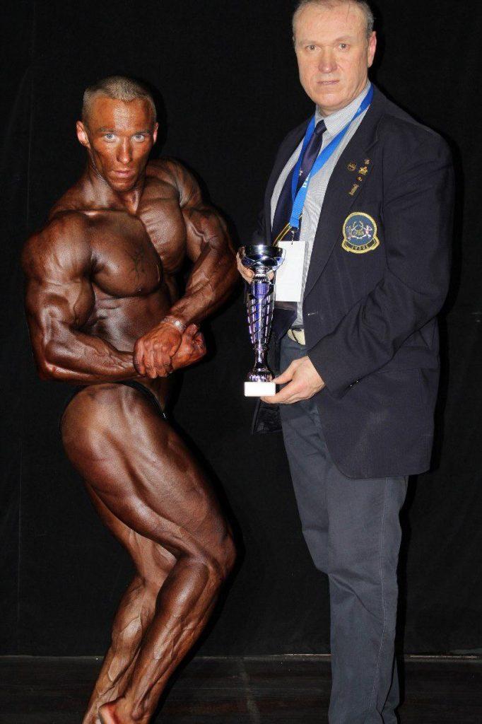 Europos jaunimo kultūrizmo čempionas Edgaras Gladas