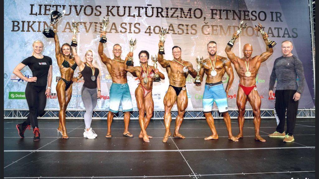 Lietuvos Kultūrizmo, Fitneso ir Bikini Atvirasis 40-asis Čempionatas